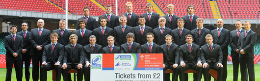 Wales U20 will kick off the inaugural IRB Junior World Championship on Friday against Italy U20