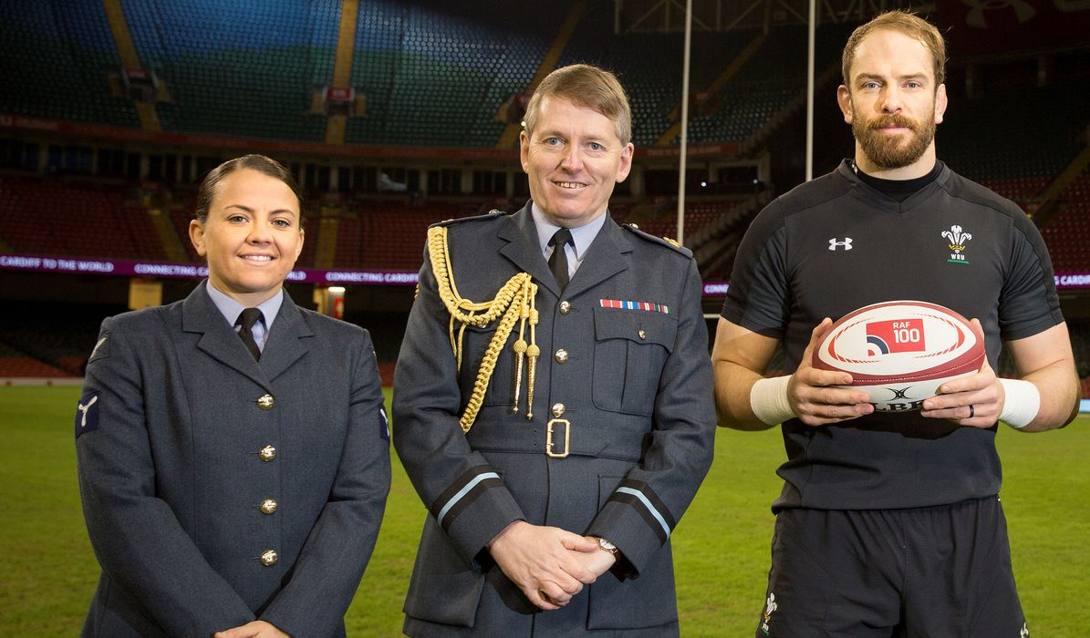 WRU salutes RAF on 100th birthday