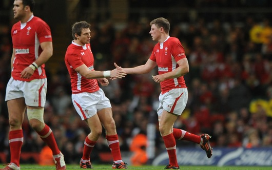 Dan Biggar and Rhys Priestland