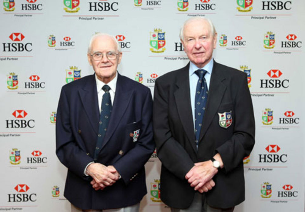 Bleddyn Williams and Dr Jack Matthews