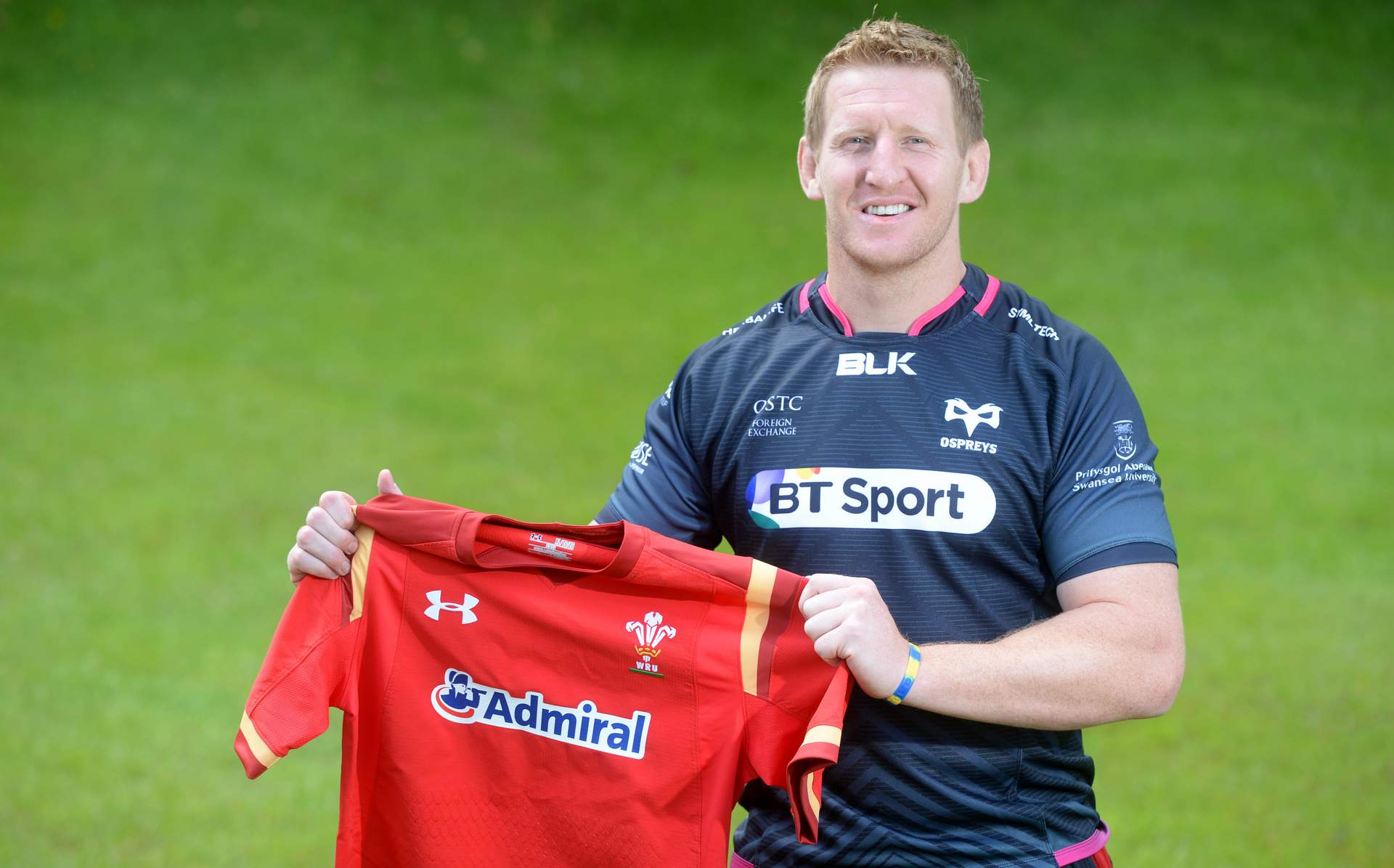 Homeward bound: Bradley Davies