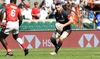 Bagshaw grabs sevens with both hands