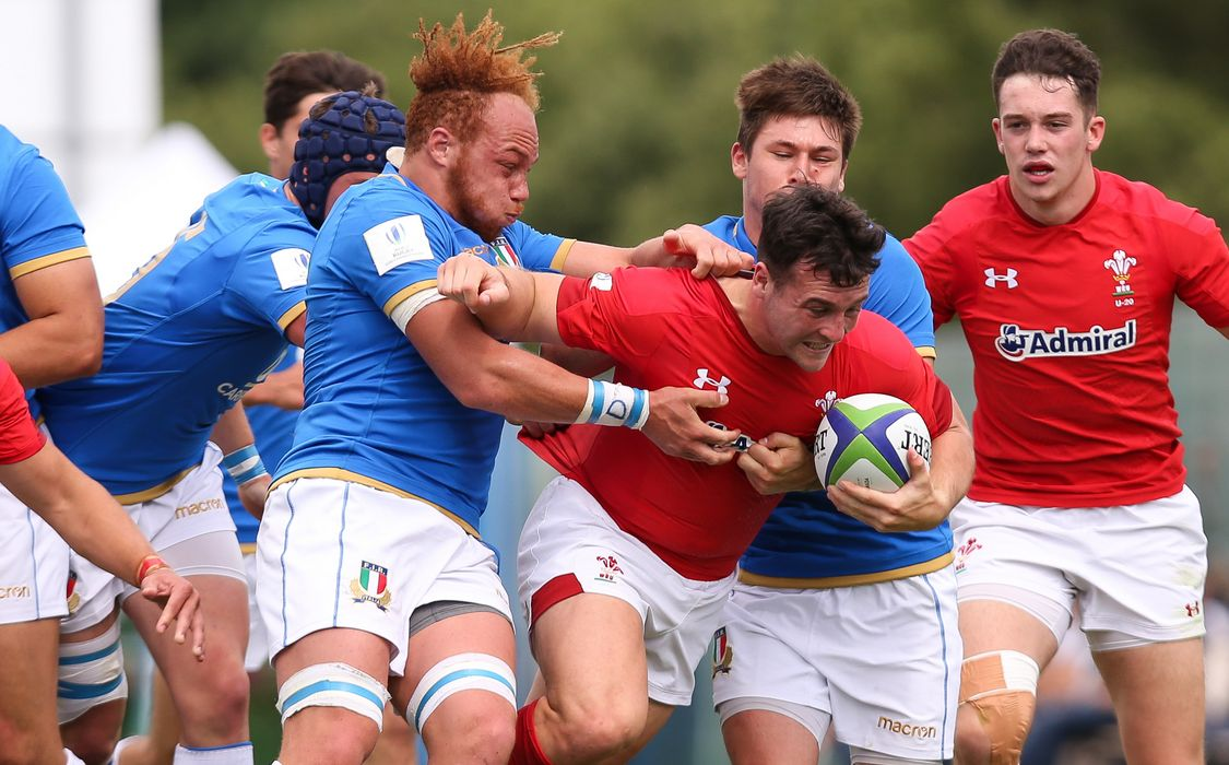 Wales U20 finish on a high against Italy