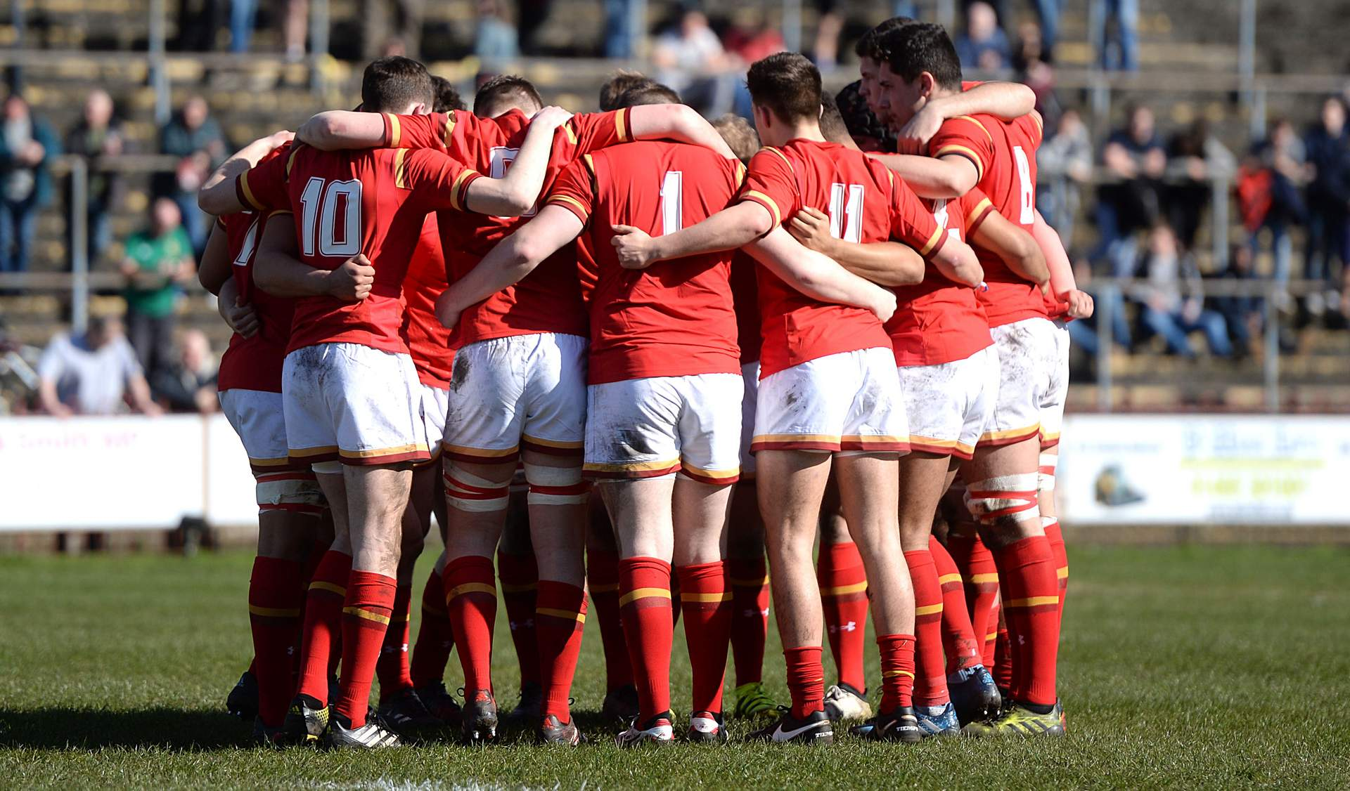Wales to host U18 International Series this April