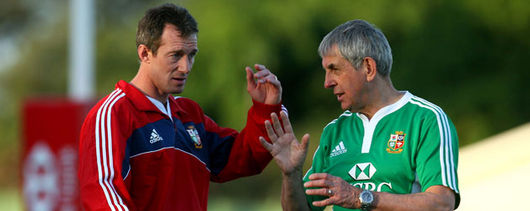 Rob Howley and Ian McGeechan