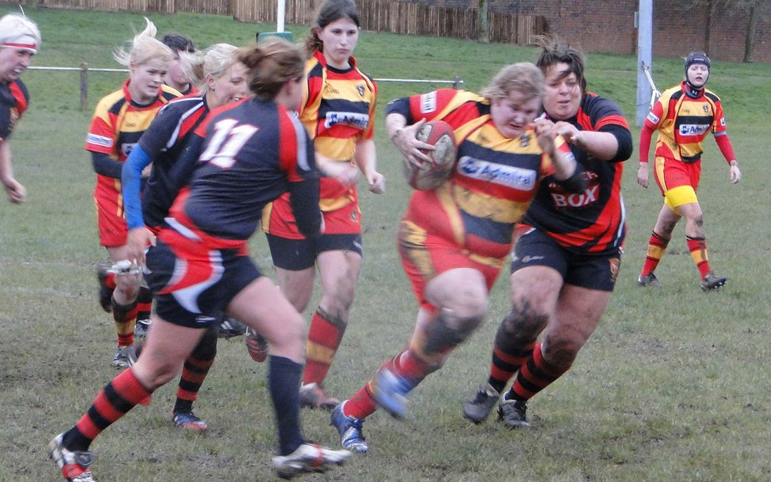 Croesyceiliog Ladies
