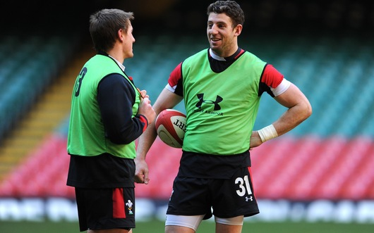 Alex Cuthbert and Jon Davies