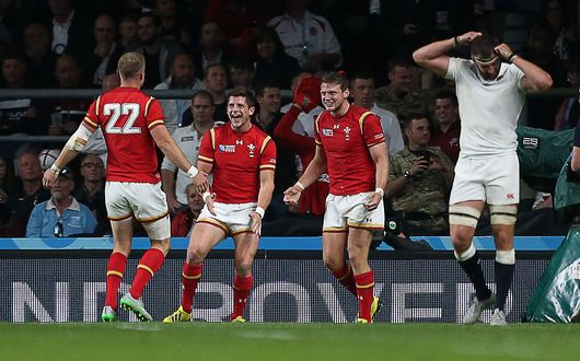 England were left stunned after Wales' dramatic fightback