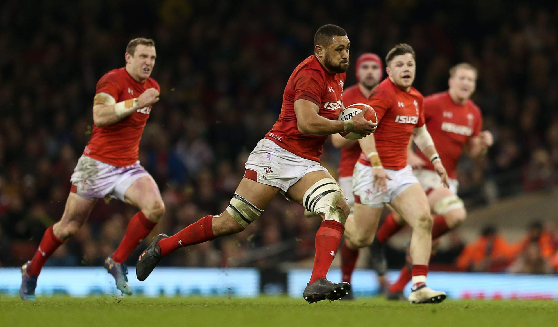 Faletau confident Wales are heading in right direction