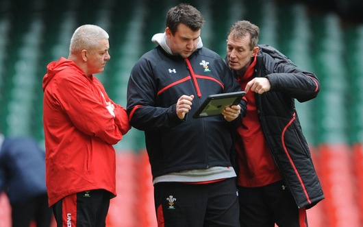 Warren Gatland, Rhys Long, Rob Howley
