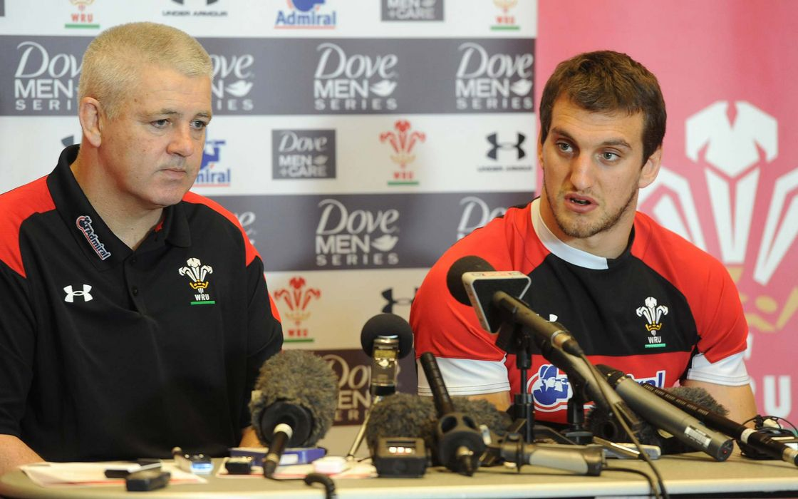 Warren Gatland and Sam Warburton