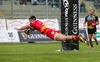 REPORT: Rosser hat-trick not enough for Dragons