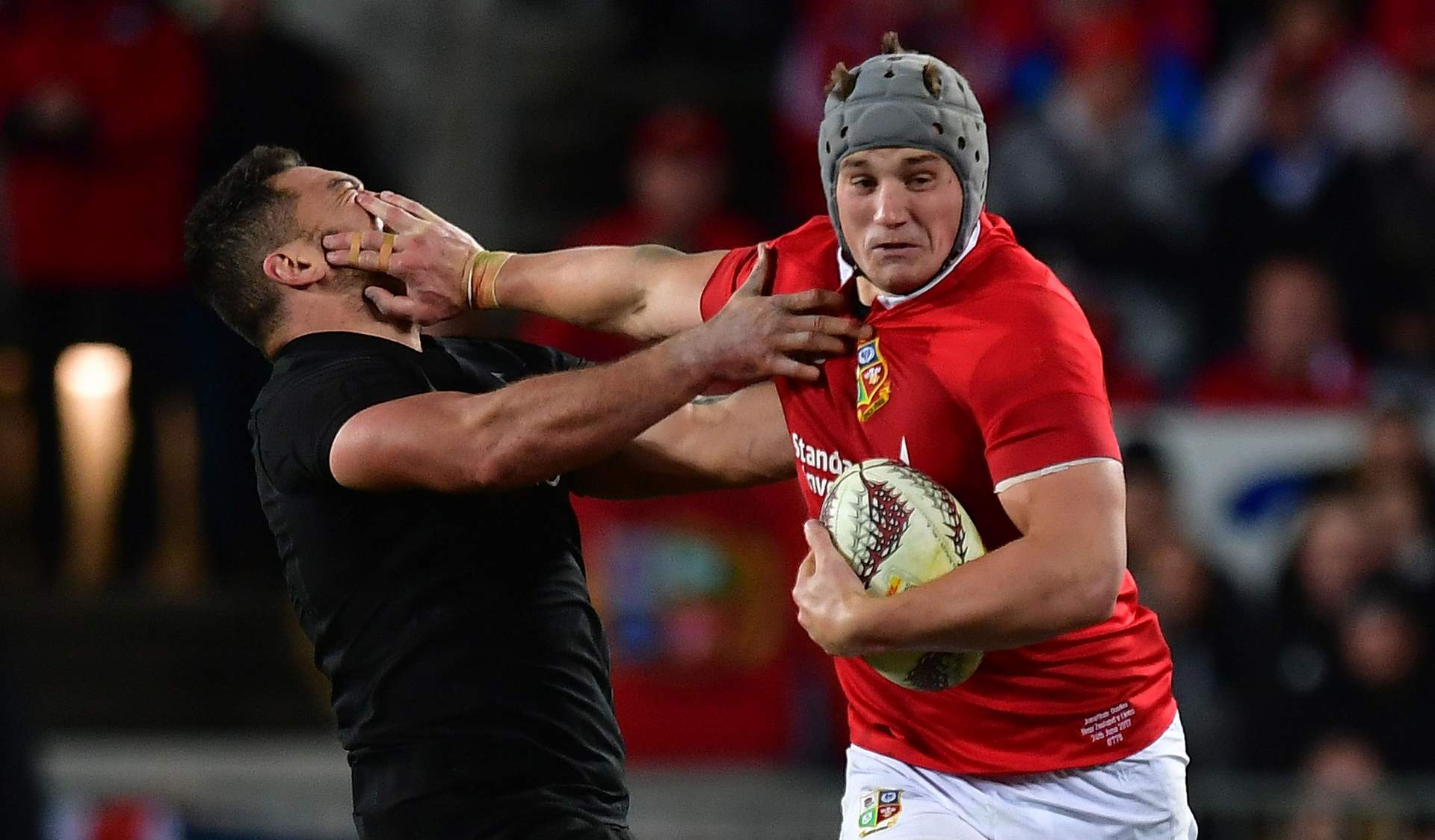 REPORT: First blood to All Blacks