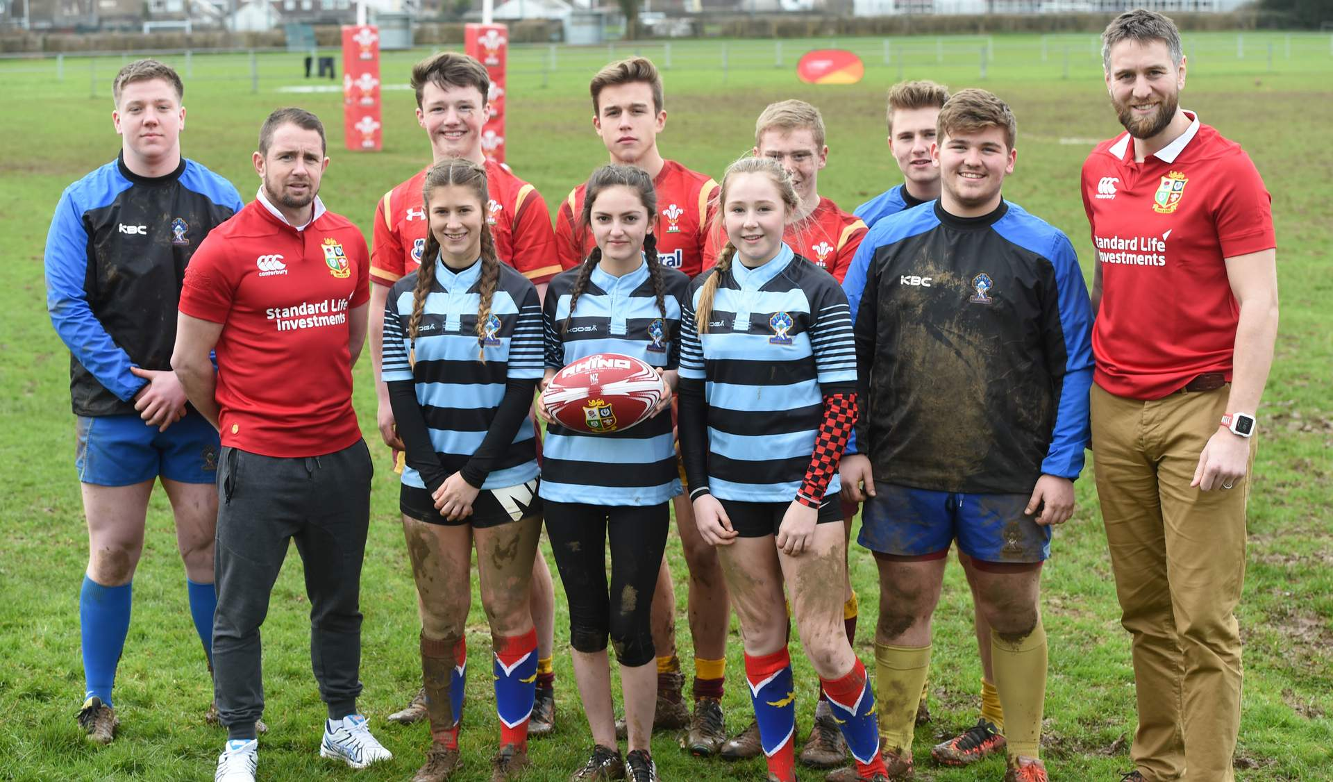 Welsh rugby gets behind Lions initiative