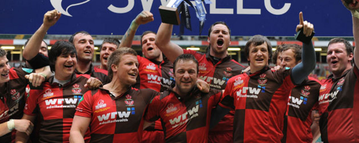Llanelli - SWALEC Cup champions for 2010