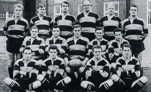 Newport v All Blacks 1963