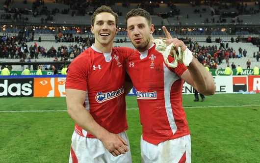 George North & Alex Cuthbert