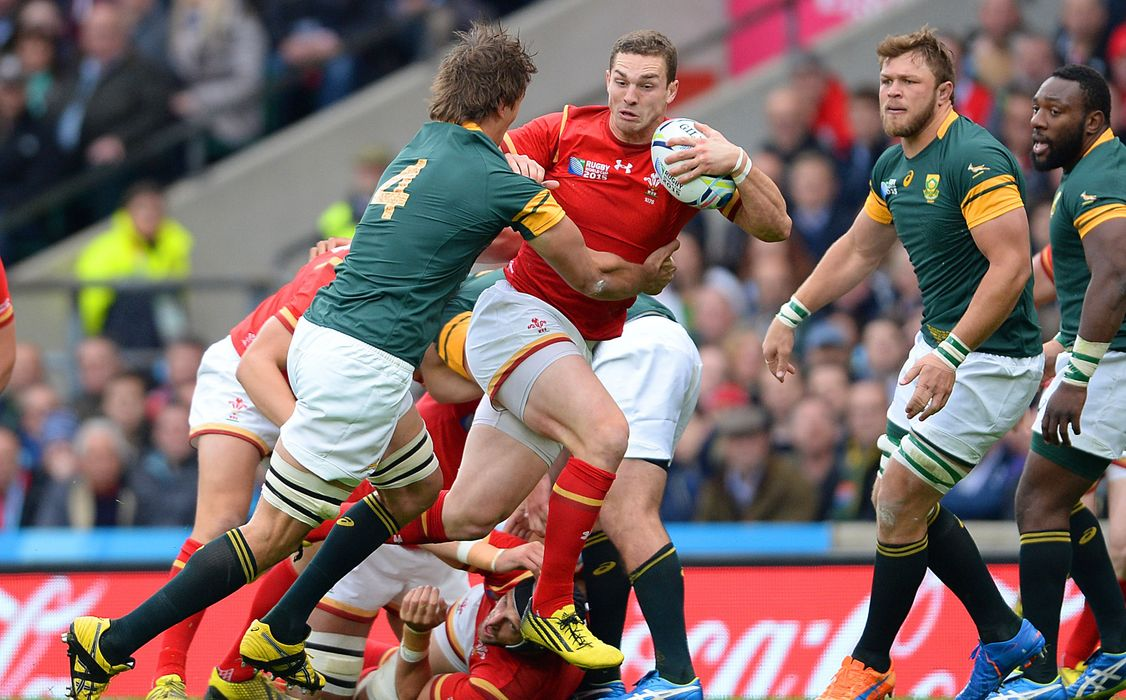 Wales v South Africa: George North