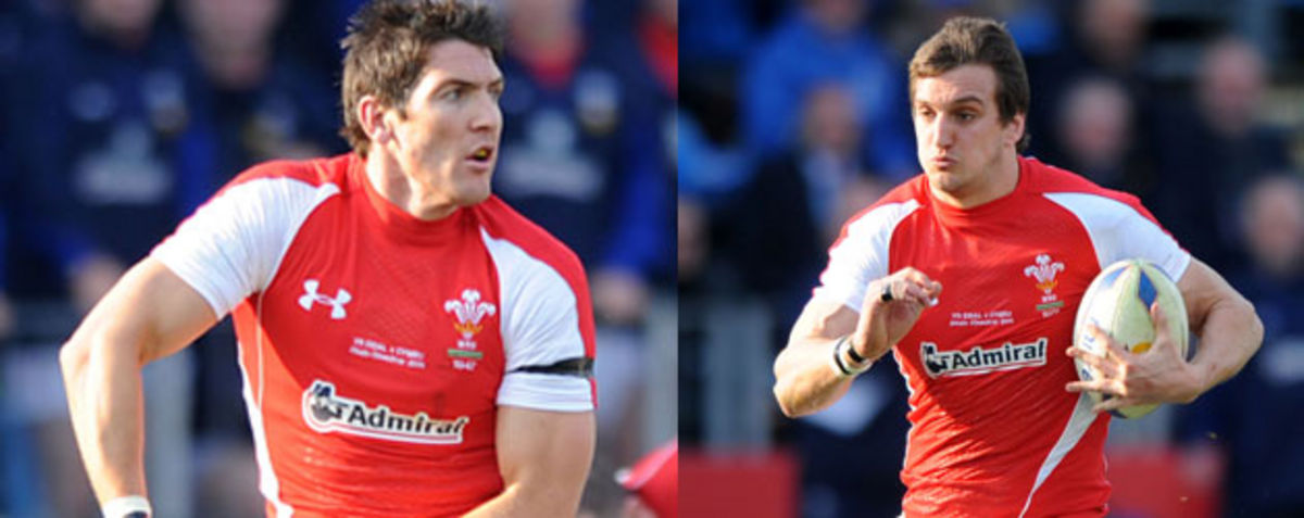 James Hook & Sam Warburton