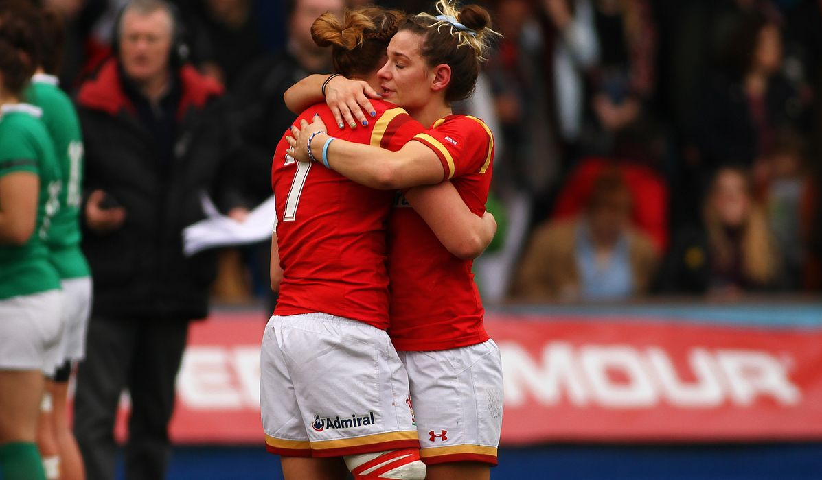 Coach praises Wales' 'raw determination'