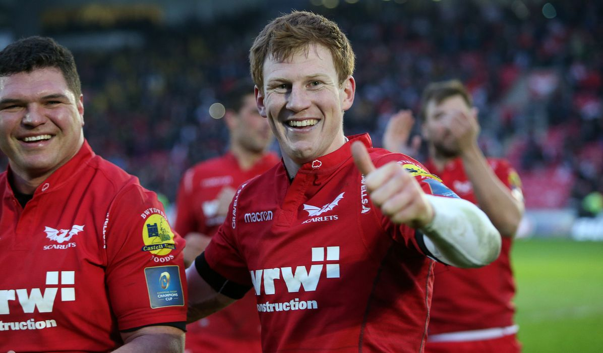 Patchell and Scarlets shooting for the stars