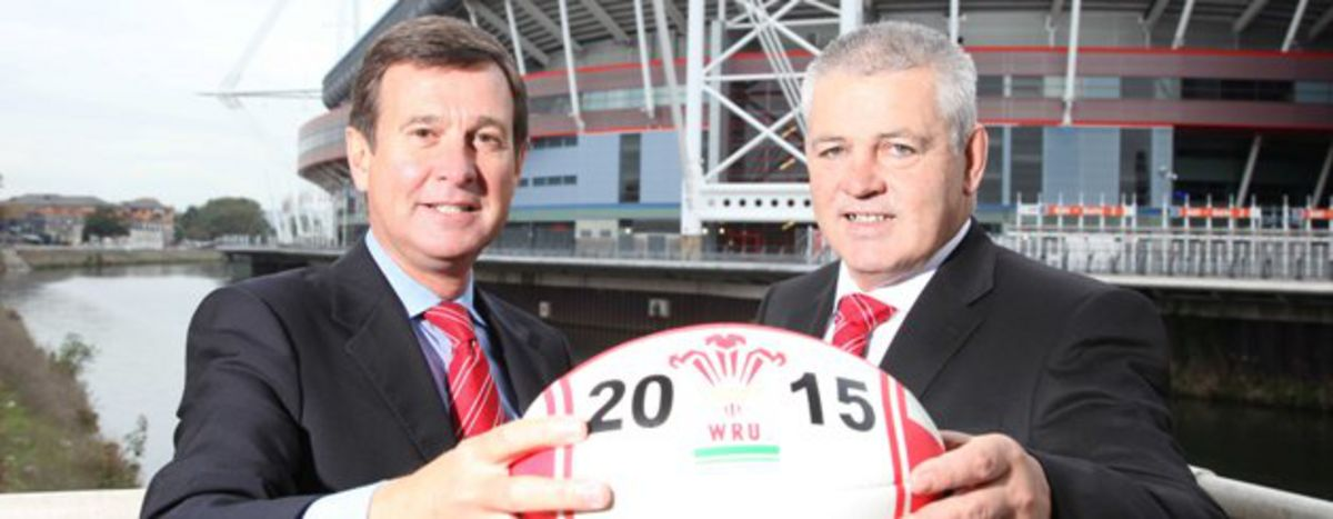 Roger Lewis and Warren Gatland