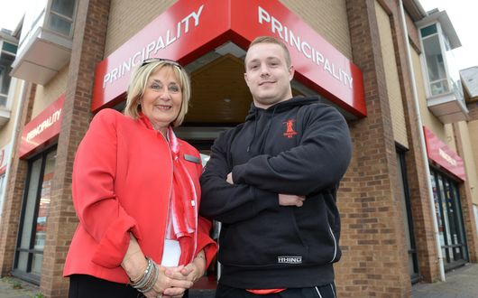 Jenkins wins first Principality Premiership Player of the Month award