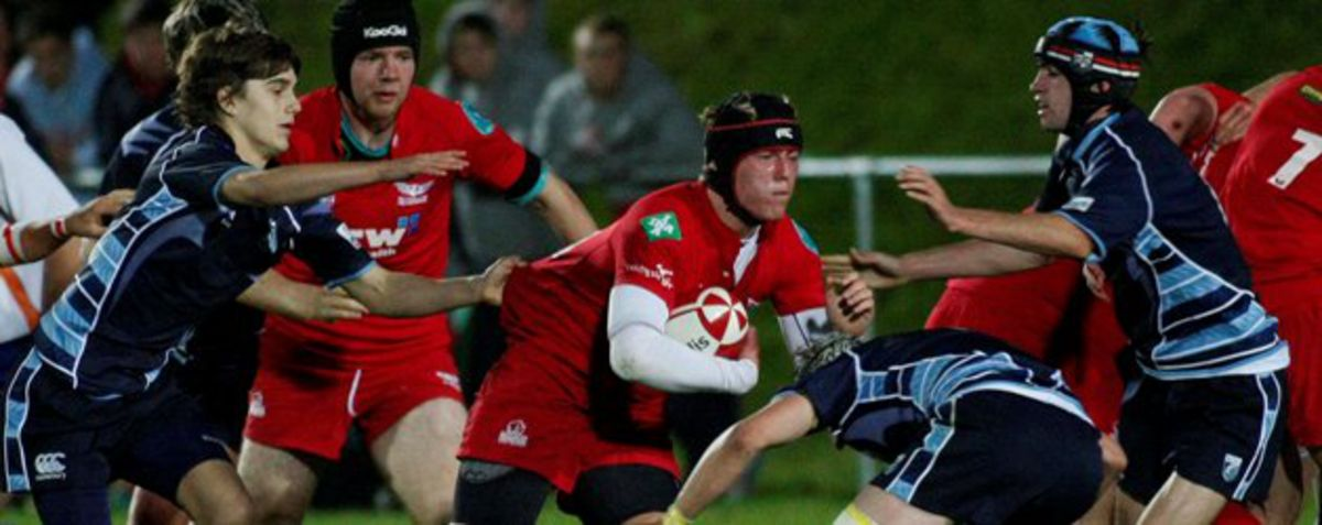 Scarlets vs Blues North U16s