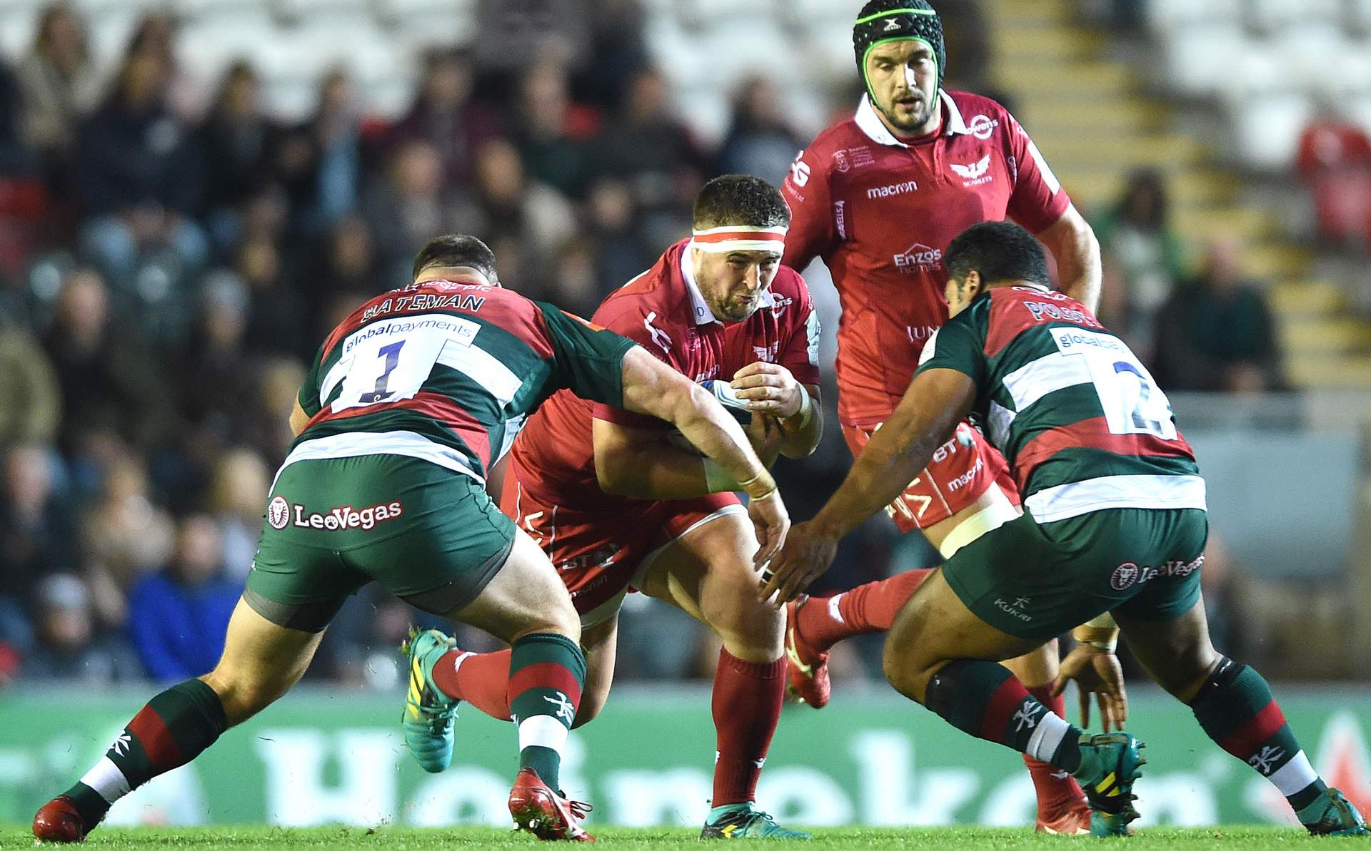REPORT: Scarlets overpowered by Tigers