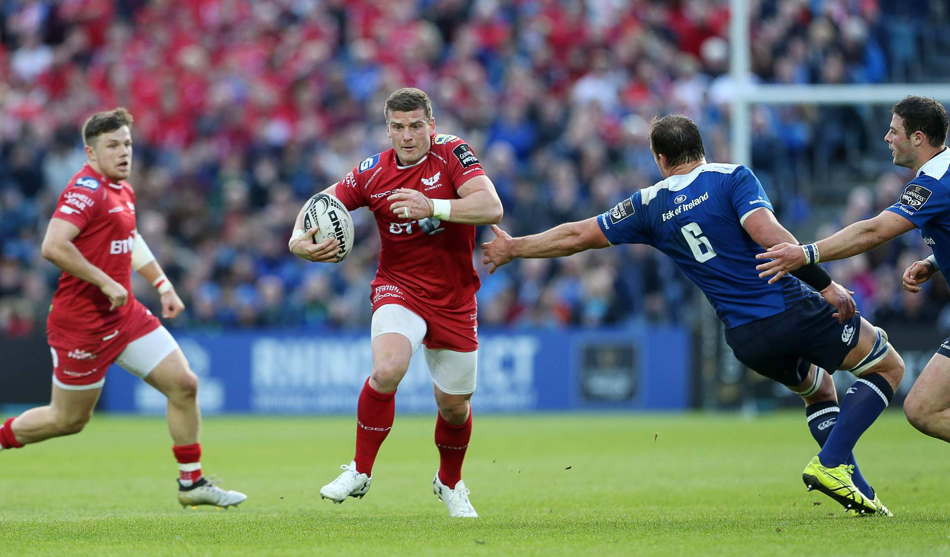 Scott's Scarlets are best in a decade