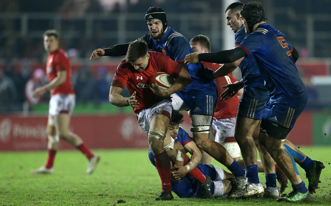 REPORT: Power packed French take title against battling Wales