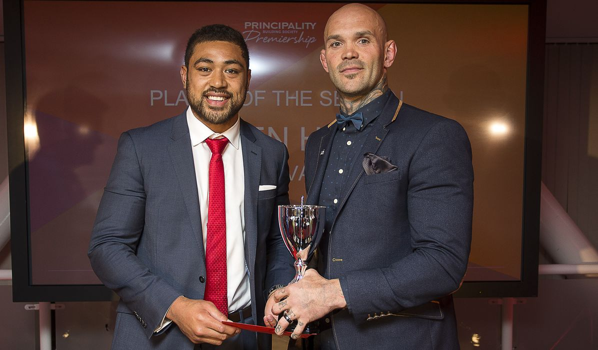 Hudd shares credit for Principality Premiership top honour