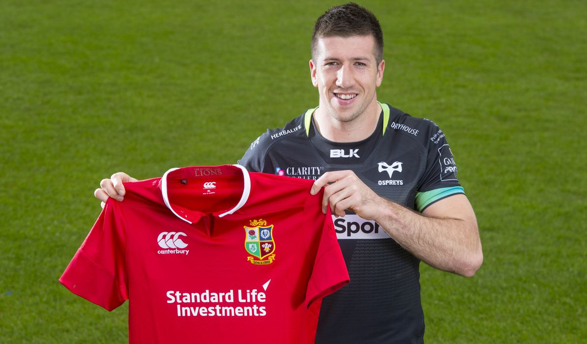 Friends reunited on Tipuric's Lions tour