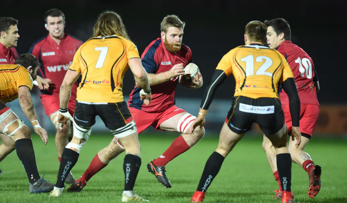 B&I CUP: Scarlets looking to go top in Cornwall