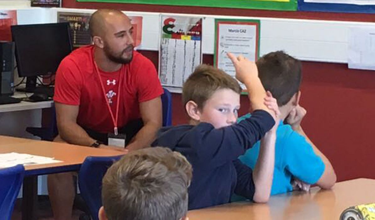 Wales 7s support children's reading