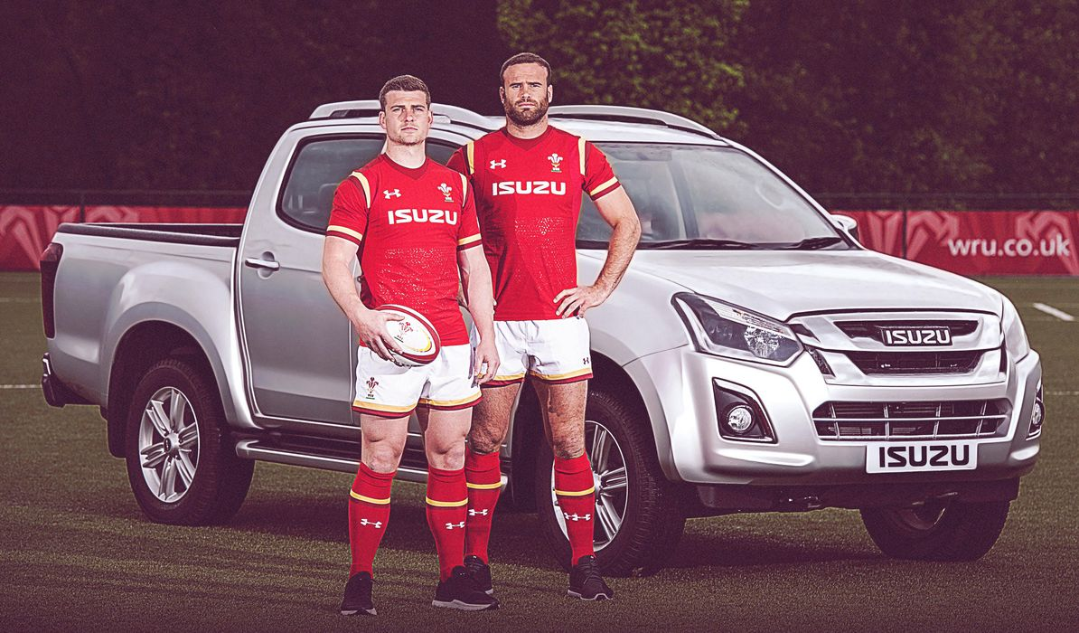 Wales pick-up historic Isuzu shirt deal