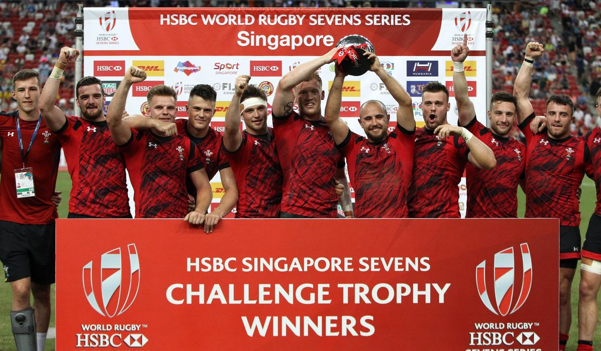Trophy time for Wales in Singapore