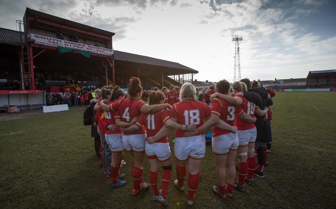 Wales Women reaction