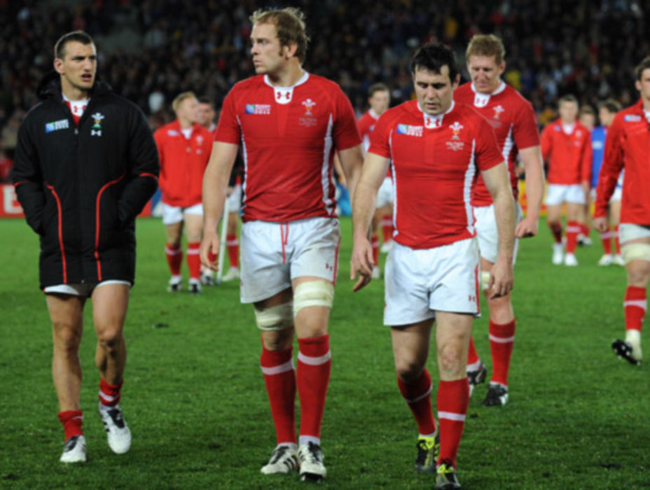 Wales players