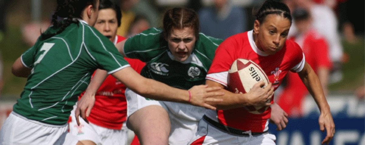 Wales Women in action