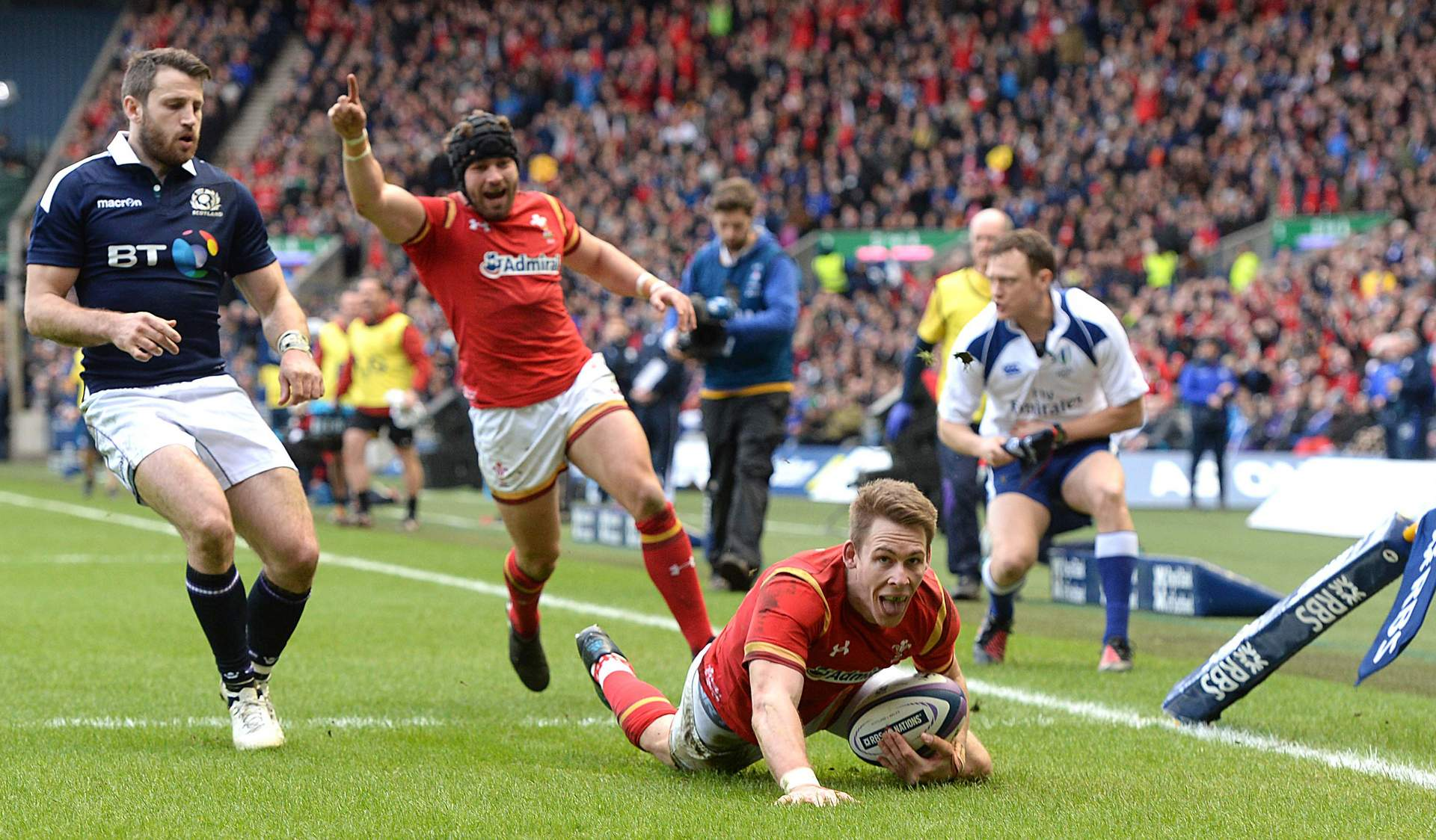 REPORT: Scotland end Wales title hopes
