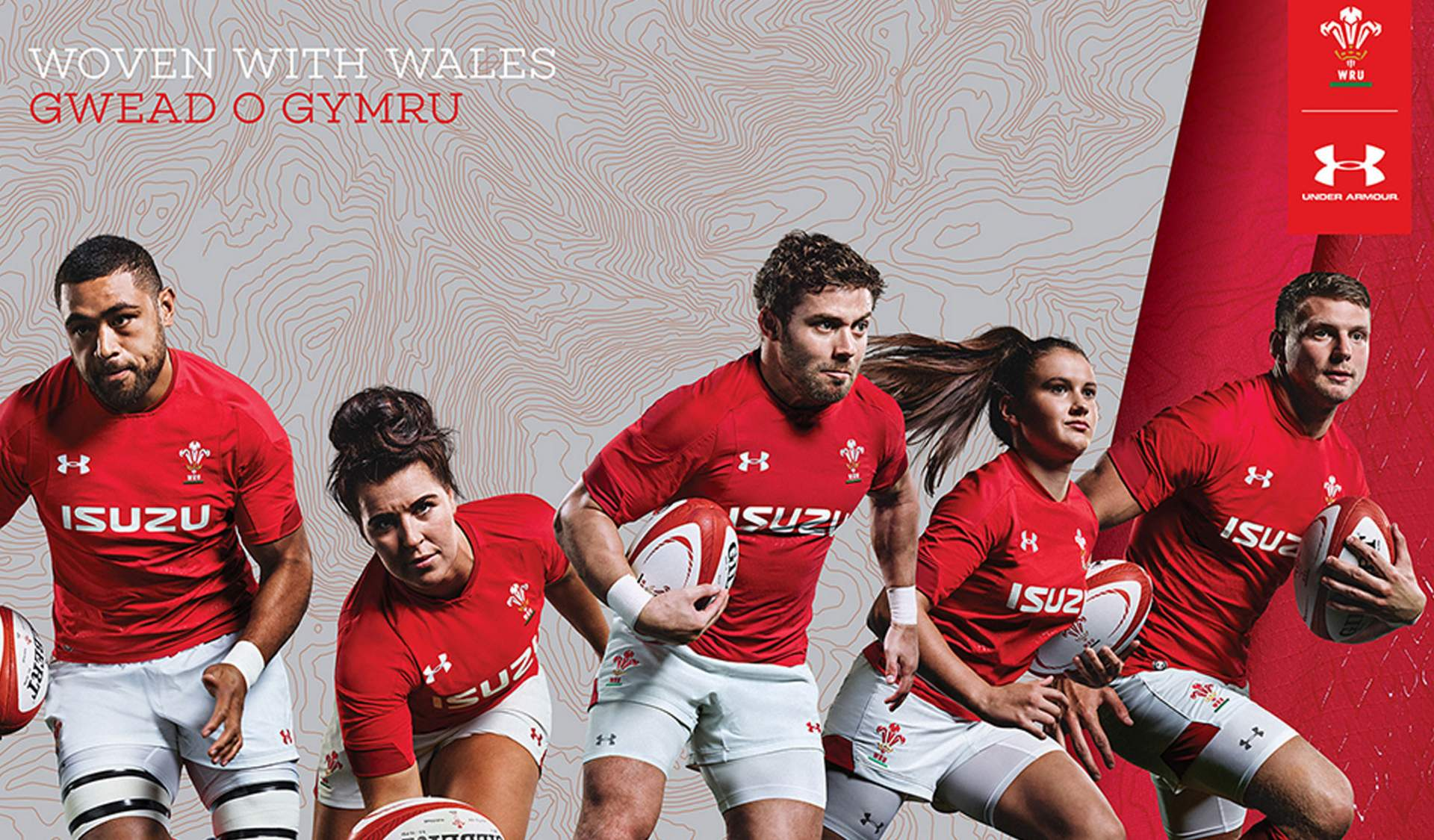 Welsh Rugby and Under Armour launch new home jersey