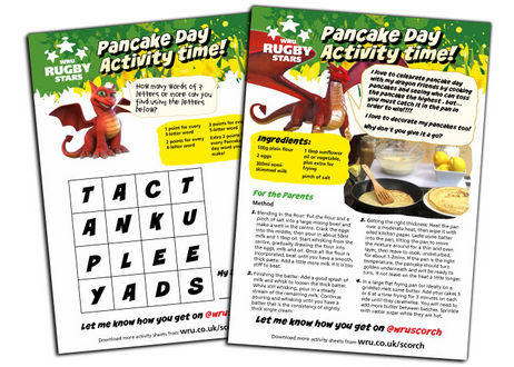 Scorch Pancake Day activities
