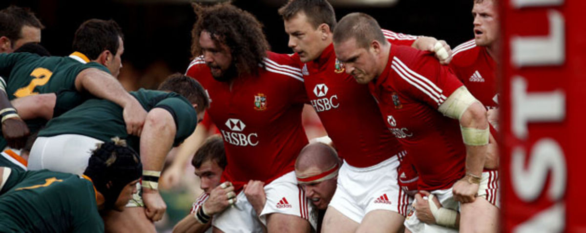 Adam Jones, Matthew Rees, Gethin Jenkins