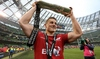 Davies basks in PRO12 title glory with the Scarlets
