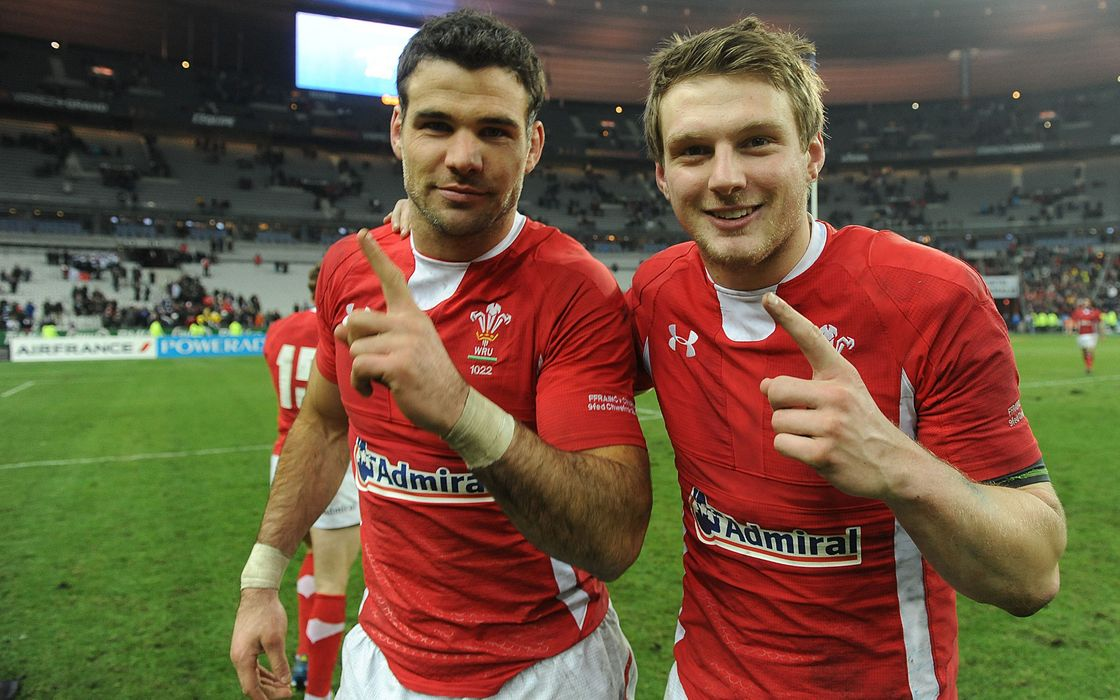 Mike Phillips and Dan Biggar