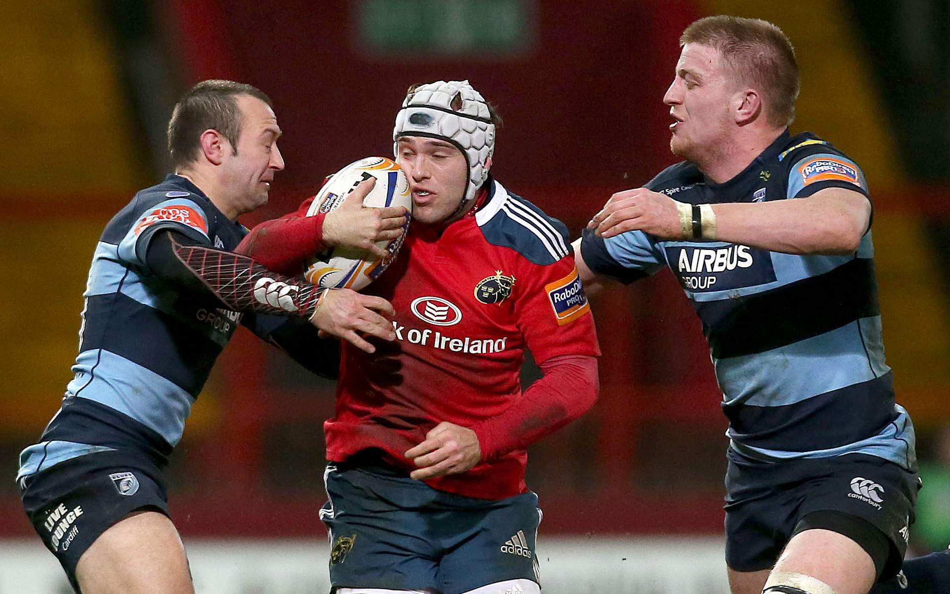 Amorosino to make Blues bow against Munster