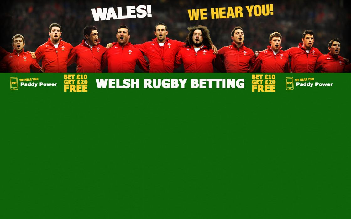 Paddy Power: Italy v Wales