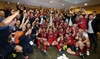Scarlets celebrate moment of history