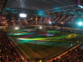 Wales RBS 6 Nations tickets at the Principality Stadiu,